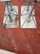 4 stainless steel axle stands in Lakenheath, UK