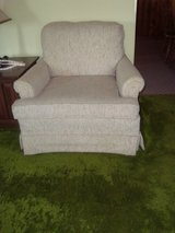 Off White Accent Upholstered Sofa Chair in Orland Park, Illinois