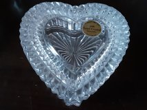mid century modern crystal trinket boxes  $15 each in Chicago, Illinois