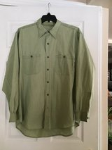 THE TERRITORY AHEAD MEN'S LONG SLEEVE LIGHT GREEN CASUAL SHIRT SIZE XL in Alamogordo, New Mexico