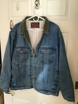 MEN'S JEAN JACKET BLUE WASHED XL in Alamogordo, New Mexico