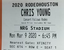 Chris Young in Conroe, Texas