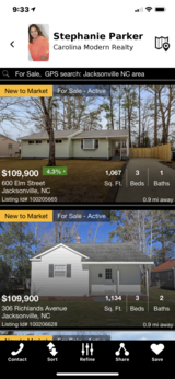 Home Search App in Camp Lejeune, North Carolina