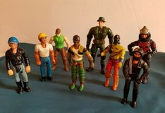 LOT of 8 - Vintage 1974-1986 GI JOE, TONKA, FISHER PRICE small Action Figures in Ramstein, Germany