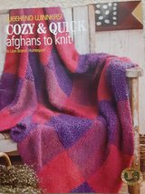 Knitting Patterns Book...Cozy & Quick Afghans in DeKalb, Illinois