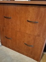 Lateral File Cabinet plus L-Shaped Desk in St. Charles, Illinois