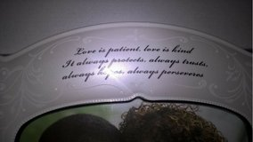 "(LENOX) ""LOVE IS PATIENT"" OPAL INNOCENCE FRAME in Quantico, Virginia"