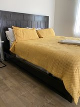 Cal King bed from ZGallerie in Huntington Beach, California