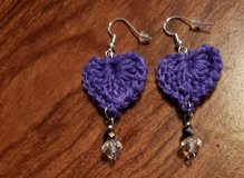 Crochet Earrings in Alamogordo, New Mexico