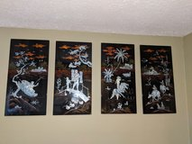 4pc. Japanese plaques in Hopkinsville, Kentucky