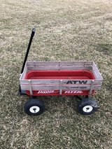 Radio Flyer ATW= All Terrain Wagon in good shape haul kids, Grand kids, rocks, mulch, etc. in Sandwich, Illinois