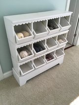 Really Cool White Wood Organizer- Shabby Chic- Legos, Yarn, Whatever! in Joliet, Illinois