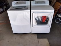 LG washer and electric dryer in 29 Palms, California