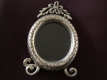 BRIGHTON OVAL SILVER-TONE PICTURE FRAME—GREAT MOTHER'S DAY GIFT! in Alamogordo, New Mexico