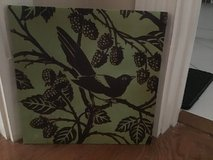 "COATED CANVAS BIRD PRINT 12"" x 12"" in Alamogordo, New Mexico"