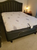 Beautyrest Queen Mattress with adjustible base. Includes headboard. Just like new! in Fairfield, California