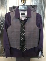 Like New 4-piece Formal Clothes Boys Size8 in Okinawa, Japan