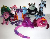9 Disney Pixar Monsters University Plush Toys ~EUC in Orland Park, Illinois