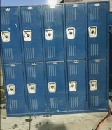 Lockers in Nellis AFB, Nevada