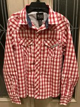 Like New Button-Up Long Sleeves Boys Size8 in Okinawa, Japan