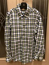 Like New Boys Size8 Button-Down Long Sleeves Shirt in Okinawa, Japan