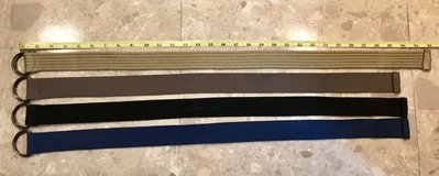 New/Like New Kids Belts (1.5x32 inches, 1.5x30inches) in Okinawa, Japan