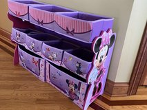 Minnie Mouse storage bins in Naperville, Illinois