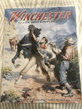 Winchester Guns and Cartridges Metal Poster Sign Mancave Decor in Sandwich, Illinois