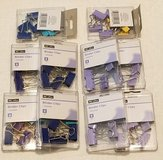 80 Assorted Binder Clips in Columbus, Georgia