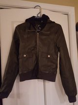Faux Leather Jacket in Camp Lejeune, North Carolina