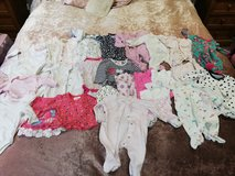 huge lot of newborn to 3 months baby clothes in Lakenheath, UK