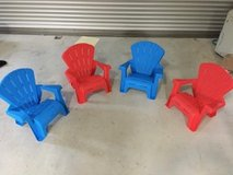 Set of Four Toddler Lawn Chairs--Brand New in Okinawa, Japan