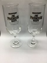 Set Of 6 pcs Suntory Premium Malt Beer Glasses (New In Box) in Okinawa, Japan