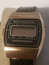 National Semiconductor vintage wrist watch in Grafenwoehr, GE