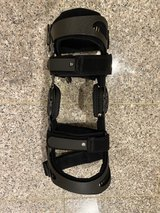 Right knee brace in Okinawa, Japan