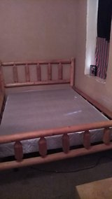 queen size log bed in Alamogordo, New Mexico