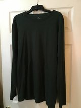 SPALDING MEN'S BLACK COTTON LONG SLEEVE T-SHIRT XL in Alamogordo, New Mexico