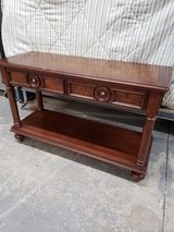 Solid sofa table/foyer table/TV stand... in St. Charles, Illinois
