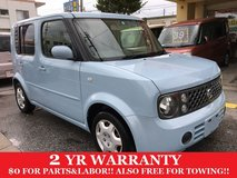 2 YEAR WARRANTY AND NEW JCI!! 2006 NISSAN CUBE!! FREE LOANER CARS AVAILABLE NOW!! in Okinawa, Japan