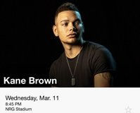 Kane Brown rodeo tickets in Baytown, Texas