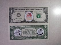 BRAND NEW COLORIZED NOVELTY SANTA CLAUS CHRISTMAS DOLLAR - FIRST DESIGN in Tinley Park, Illinois