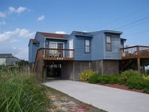 Vacation rental-N. Topsail Beach-12mi from Jejeune-Weekly rental-Walk-2-Beach-NICE-2br/1b in Camp Lejeune, North Carolina