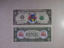 BRAND NEW COLORIZED NOVELTY BIRTHDAY DOLLAR - SECOND DESIGN in Westmont, Illinois