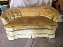 Vintage Love Seat Sofa in Westmont, Illinois