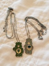 2 Collectible Care Bears Necklaces in Columbus, Georgia