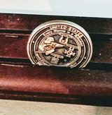 "Challenge Coin Display Wood 18 1/2"" in 29 Palms, California"