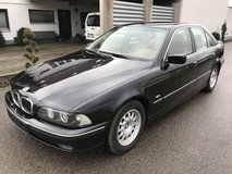 BMW 523 i 6 cylinder leather winter and summer tyres brand new inspection free delivery in Grafenwoehr, GE