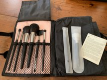 Mary Kay makeup brushes with case and 2 compacts in Tomball, Texas