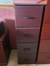 Wood Filing Cabinet - Very Good Condition in Alamogordo, New Mexico