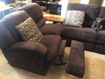 Sectional couch with recliner/rocker in Kingwood, Texas